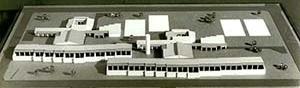 A cidade de Caraíba, (Pilar), Jaguarari, BA, 1978. Maquete edifício