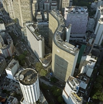 Centro novo de São Paulo<br />Foto Nelson Kon