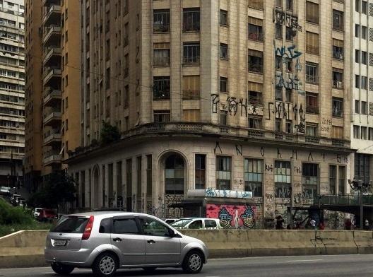 Fachada do edifício Rizkallah Jorge, São Paulo, 2017<br />Foto Luiz Fernando de Azevedo Silva