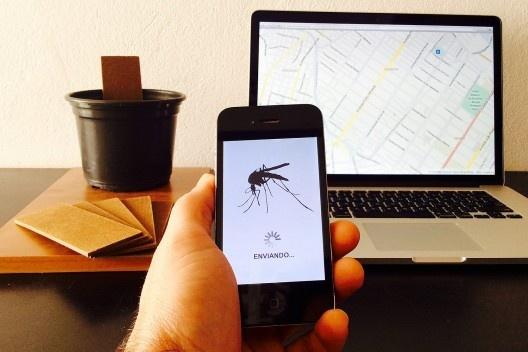 Projeto monitorização comunitária de focos de vetores de dengue no Brasil<br />Foto divulgação  [Equipe Monitorização de focos de dengue]