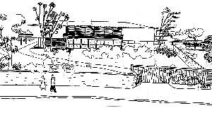 Residência Mattos, Acácio Gil Borsoi, 1958