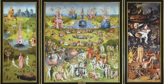 The Garden of Earthly Delights, 1480-1505<br />Hieronymus Bosch  [Wikimedia Commons]