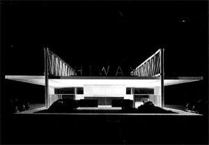 Figura 3 – Mies van der Rohe, Restaurante Drive-in Cantor, Indianapolis, 1945-56 [CARTER, Peter]
