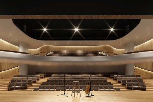 Edifício Santos Augusta, teatro, São Paulo, 2018, arquiteto Isay Weinfeld<br />Divulgação  [Isay Weinfeld]