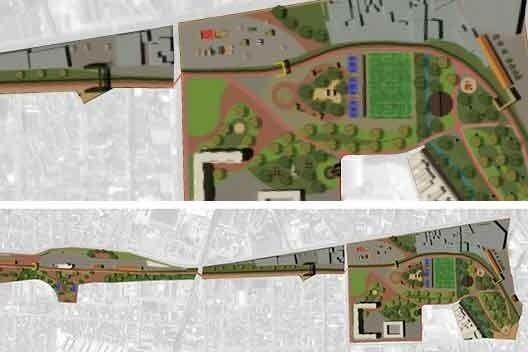 Parque das Estações, aluno Raphael Santos