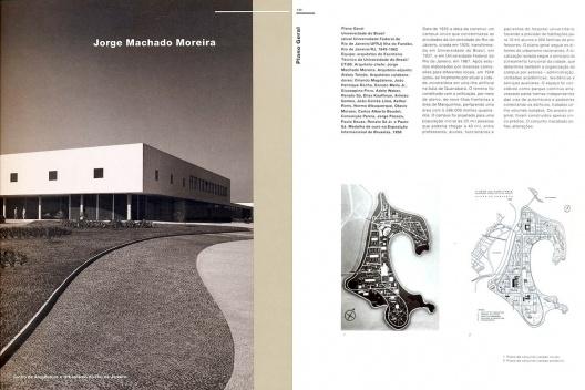 """Livro-catálogo """"Jorge Machado Moreira"""". Organização de Jorge Czajkowski, 1999<br />Foto divulgação  [CAU SMU PCRJ]"""