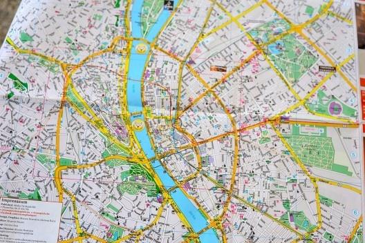 mapa budapeste centro arquiteturismo 080.07 viagem de estudo: Budapest, Hungria   vitruvius mapa budapeste centro