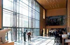 Grande Galeria da Evolução, Paris. Hall de entrada