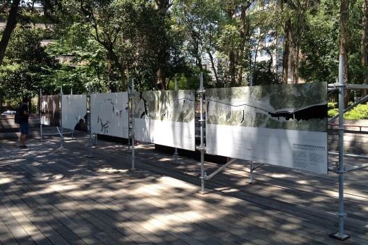 """Modos de Fluir"" na Praça Victor Civita<br />Foto Renato Anelli"
