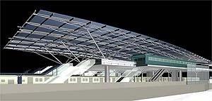 Estação da supervia em São Cristóvão, arquitetos Mario Biselli e José Paulo De Bem