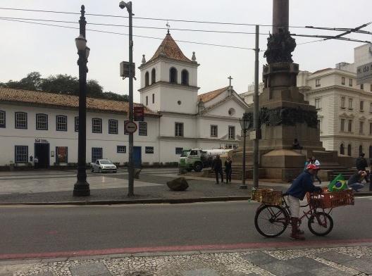 Pátio do Colégio, São Paulo<br />Foto Abilio Guerra