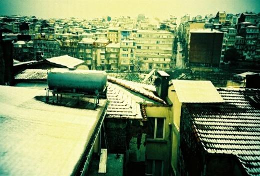 Istambul sob a neve