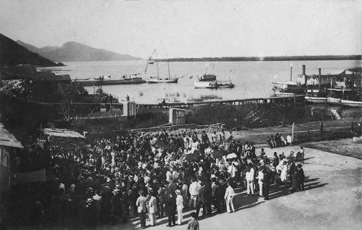 Porto Grande de Iguape, início do século 20<br />Foto Arthur Fortes Filho  [Domínio comum]