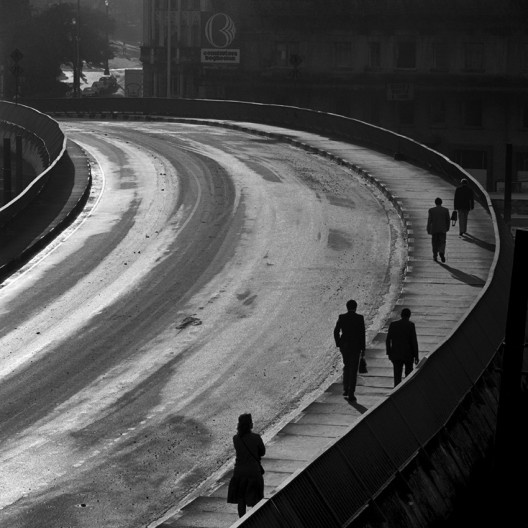 Viaduto Eugênio Stévaux, São Paulo SP, 1996<br />Foto Cristiano Mascaro