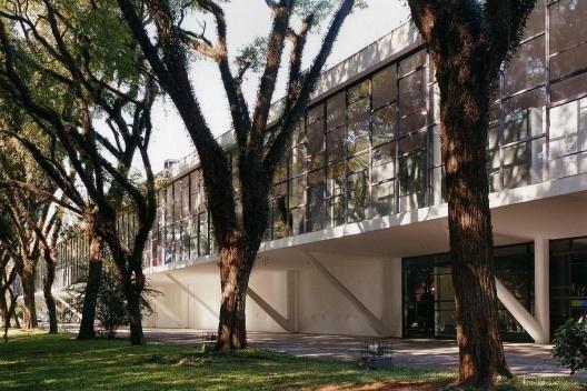 Museu Afro, Parque do Ibirapuera, São Paulo. Arquiteto Oscar Niemeyer<br />Foto Nelson Kon