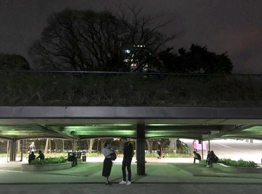 """Centro Cultural São Paulo na noite de abertura da XII Bienal Internacional de Arquitetura de São Paulo – """"Todo dia"""", 13 de setembro de 2019<br />Foto Abilio Guerra"""
