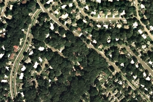 Radburn, Estados Unidos [Google Earth, 2009]