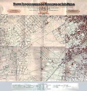 Mapa de São Paulo / A várzea do Ibirapuera. 1930 [http://200.230.190.125/atlas/conteudo/metro/metro_14_1.jpg (em 15/09/2004)]