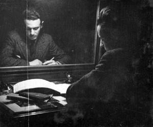 El lugar de estudio en París, 1935 [Colección familia Estrada]