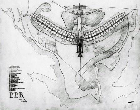 Plano Piloto de Brasília, arquiteto Lúcio Costa