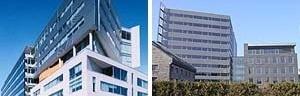 Cidade Multimídia em Montreal, edifícios novos de escritório<br />Foto Fábio Duarte
