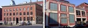 Cidade Multimídia em Montreal, edifícios reconvertidos<br />Foto Fábio Duarte