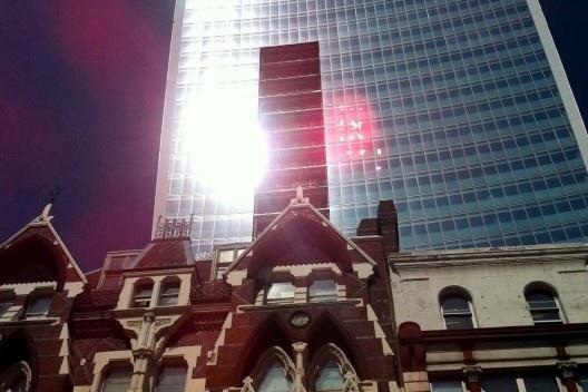 """""""Walkie-Talkie"""", Londres. Arquiteto Rafael Viñoly<br />Foto divulgação"""