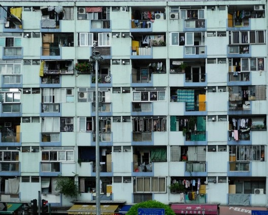Typical social housing, Ngau Tau Kok Rd, Kwun Tong District [divulgação]