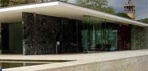 Fig. 4: Reconstrução do Pavilhão em Barcelona (1929) – Mies van der Rohe [www.pt.wikipedia.org]