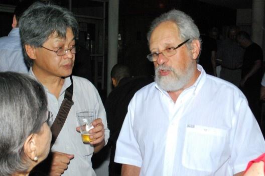 Aracy Amaral, Victor Hugo Mori e Michel Gorski (editor Arquiteturismo)<br />Foto Thomas Bussius