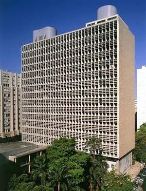 Fig. 1 – Ministério de Educação e Saúde Pública de Río de Janeiro<br />Foto Nelson Kon