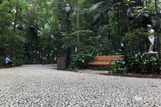Parque Trianon, Avenida Paulista, São Paulo<br />Foto Abilio Guerra