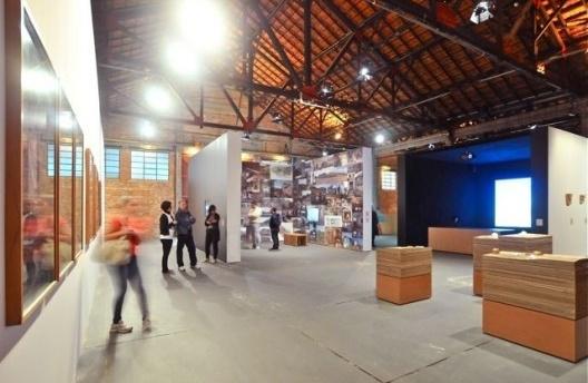 Território de Contato, módulo 1, Cao Guimarães e Brasil Arquitetura. Curadoria Marta Bogéa e Abilio Guerra