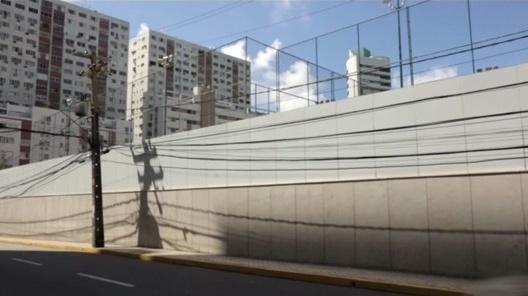 """Modelo de remodelação urbana, com condomínios fechados<br />Foto divulgação  [vídeo """"Recife, cidade roubada""""]"""