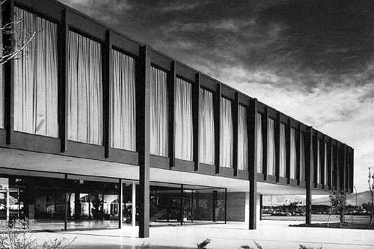 Consulado dos Estados Unidos, São Paulo. Arquiteto Mies van der Rohe, 1957-1962