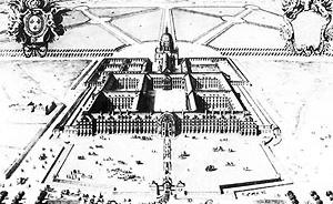 Figura 02 – Hospital dos Inválidos (Bruant, 1670) [PEVSNER, N.. História de las tipologias arquitectónicas. Barcelona: Gustavo Gili, 1980. p]