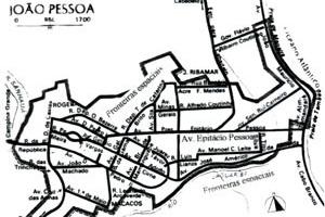 Espaço territorial do percurso da Avenida Epitácio Pessoa