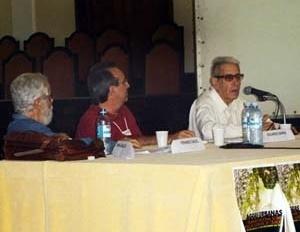 Mesa de Abertura, com Fernando Chacel, Eduardo Barra e Aziz Ab´Saber