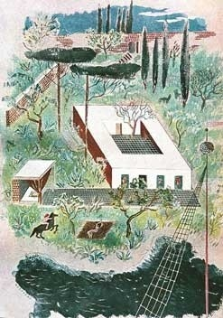 Procida, 1938. Arquiteto Bernard Rudofsky [Domus]