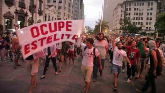 Movimento Ocupe Estelita<br />Foto divulgação