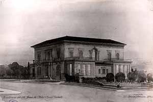 Foto antigua de la casa de Juan Pedro Baró