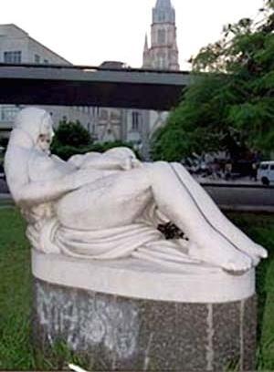 Maternidade, Celso Antonio. Rua Farani, Botafogo, Rio de Janeiro. Localização original: jardins do terraço do Ministro
