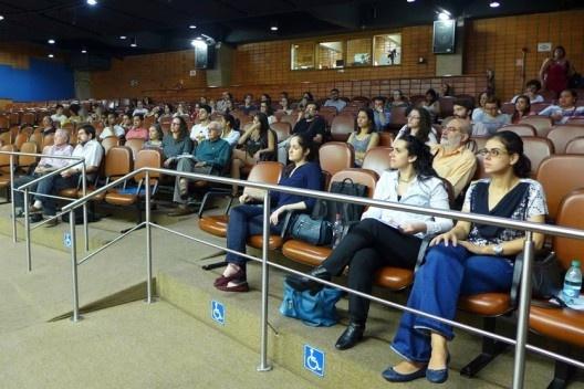 Plateia do evento, Encontro Núcleo Docomomo-SP 2015<br />Foto André Marques