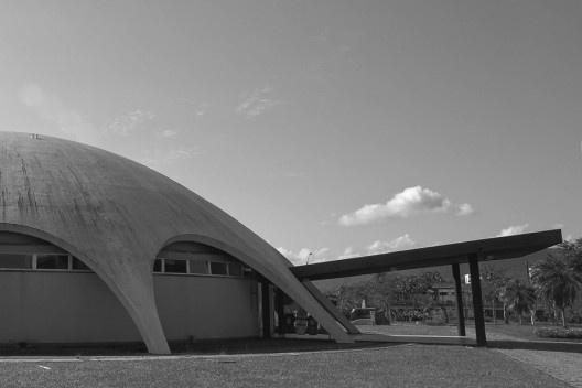 Planetário, Universidade Federal de Santa Maria, detalhe<br />Foto Pedro Machry Krum Ribeiro