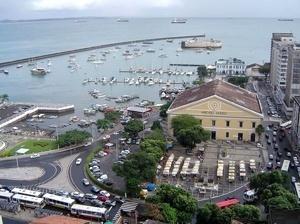 Vista da Cidade Baixa, Mercado Modelo<br />Foto: Paula Marques Braga, Jul / 2007