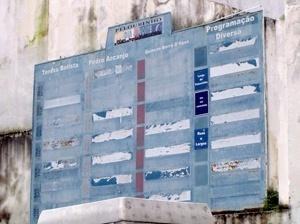 Placa da antiga programação Pelourinho Dia & Noite<br />Foto: Paula Marques Braga, Jul / 2007
