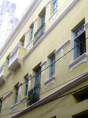 Detalhe da edificação<br />Foto: Paula Marques Braga, Jun / 2008