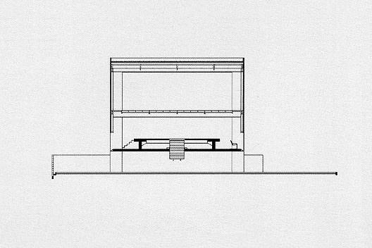 Loja Forma, corte transversal, São Paulo, 1987. Arquiteto Paulo Mendes da Rocha<br />Imagem divulgação  [PIÑÓN, Helio. Paulo Mendes da Rocha. São Paulo, Romano Guerra Editora, 2002]