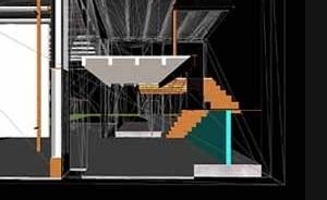 Projeto Galeria de Arte. Bairro gótico de Barcelona. Colaboração de Daniela Gomes, 2000