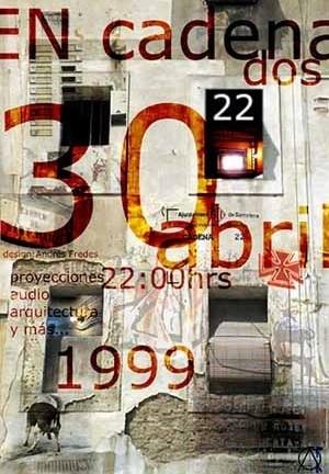 Instalaçao en-cadena-dos (1999), colabora Fredes e Quintero